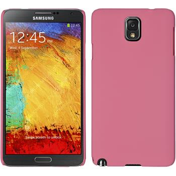 Hardcase for Samsung Galaxy Note 3 rubberized pink