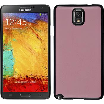 Hardcase for Samsung Galaxy Note 3 leather optics pink