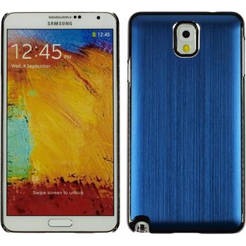 Hardcase Galaxy Note 3 Metallic blau