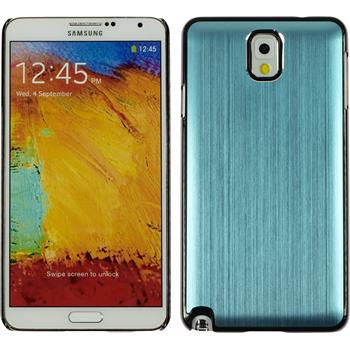 Hardcase Galaxy Note 3 Metallic hellblau