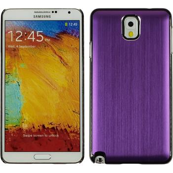 Hardcase for Samsung Galaxy Note 3 metallic purple