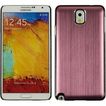 Hardcase for Samsung Galaxy Note 3 metallic pink