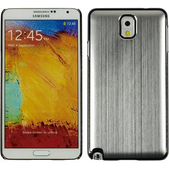 Hardcase Galaxy Note 3 Metallic silber