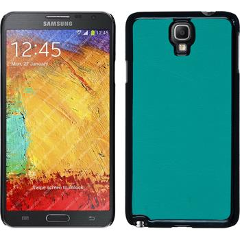 Hardcase for Samsung Galaxy Note 3 Neo leather optics blue