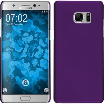 Hardcase Galaxy Note 7 gummiert lila
