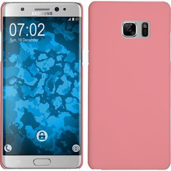 Hardcase Galaxy Note 7 gummiert rosa