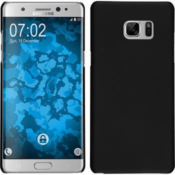 Hardcase für Samsung Galaxy Note 7 gummiert schwarz