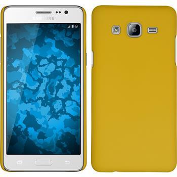 Hardcase für Samsung Galaxy On5 gummiert gelb