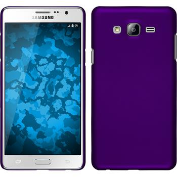 Hardcase Galaxy On7 gummiert lila