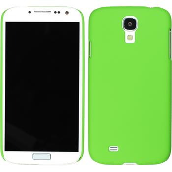 Hardcase für Samsung Galaxy S4 gummiert grün