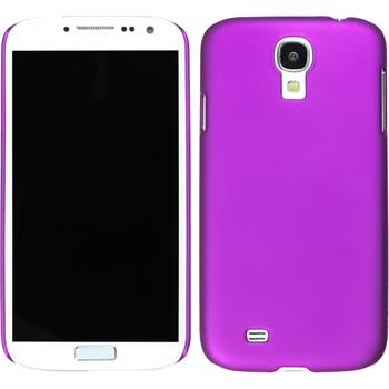 Hardcase for Samsung Galaxy S4 rubberized purple