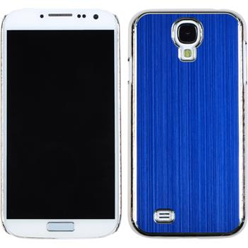 Hardcase for Samsung Galaxy S4 metallic blue