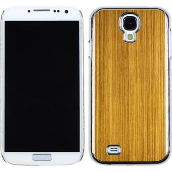 Hardcase for Samsung Galaxy S4 metallic yellow