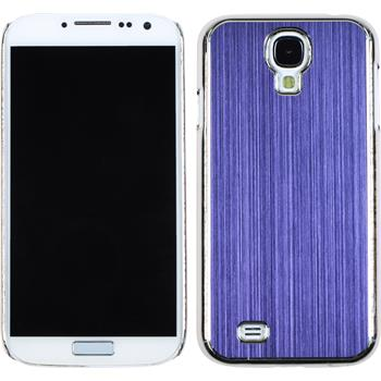 Hardcase for Samsung Galaxy S4 metallic purple