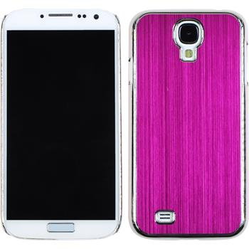 Hardcase for Samsung Galaxy S4 metallic hot pink