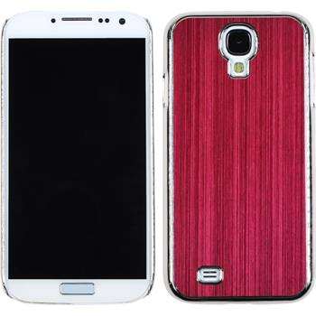 Hardcase for Samsung Galaxy S4 metallic red