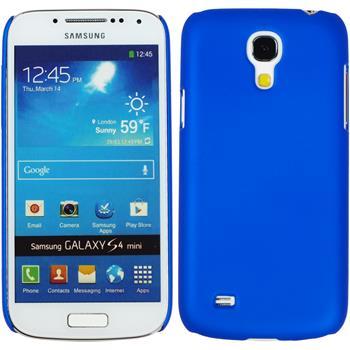 Hardcase Galaxy S4 Mini gummiert blau