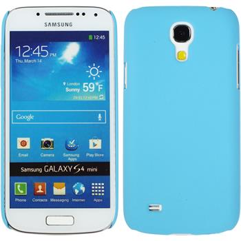 Hardcase for Samsung Galaxy S4 Mini rubberized light blue