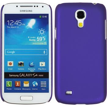 Hardcase Galaxy S4 Mini gummiert lila