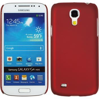 Hardcase Galaxy S4 Mini gummiert rot
