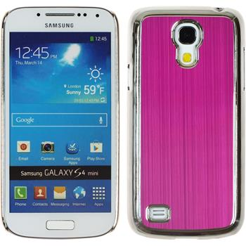 Hardcase for Samsung Galaxy S4 Mini metallic hot pink
