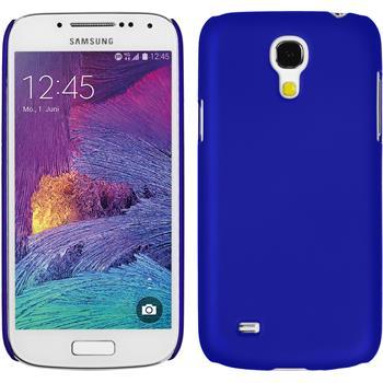 Hardcase Galaxy S4 Mini Plus I9195 gummiert blau