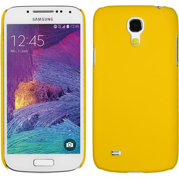 Hardcase Galaxy S4 Mini Plus I9195 gummiert gelb