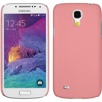 Hardcase Galaxy S4 Mini Plus I9195 gummiert rosa
