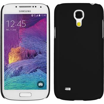 Hardcase Galaxy S4 Mini Plus I9195 gummiert schwarz