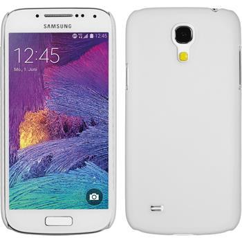 Hardcase Galaxy S4 Mini Plus I9195 gummiert weiß