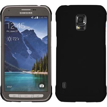 Hardcase Galaxy S5 Active gummiert schwarz