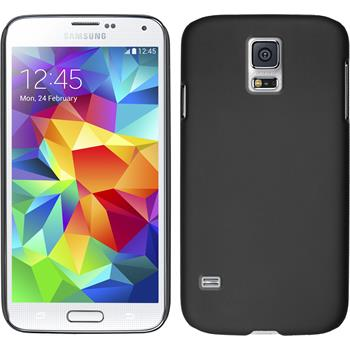 Hardcase for Samsung Galaxy S5 rubberized black