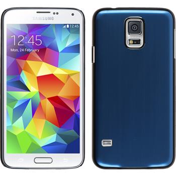 Hardcase for Samsung Galaxy S5 metallic blue