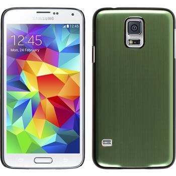 Hardcase for Samsung Galaxy S5 metallic green