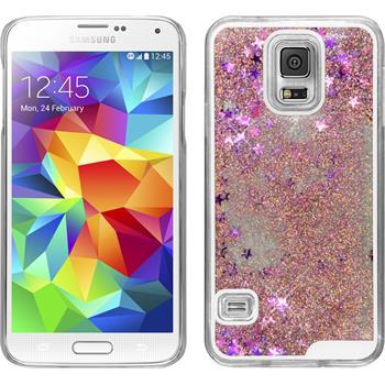 Hardcase Galaxy S5 Neo Stardust rosa