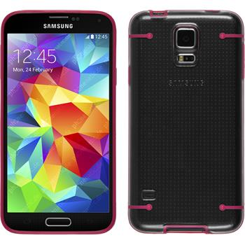 Hardcase Galaxy S5 transparent pink