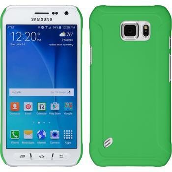 Hardcase Galaxy S6 Active gummiert grün