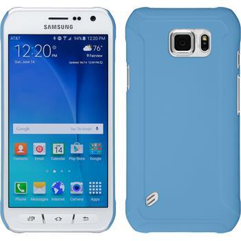 Hardcase Galaxy S6 Active gummiert hellblau