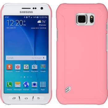 Hardcase Galaxy S6 Active gummiert rosa