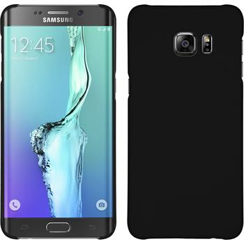 Hardcase Galaxy S6 Edge Plus gummiert schwarz Case