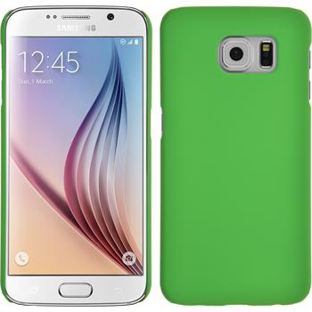 Hardcase Galaxy S6 gummiert grün