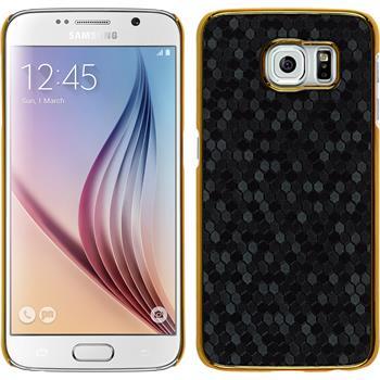 Hardcase Galaxy S6 Hexagon schwarz