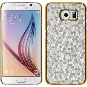 Hardcase Galaxy S6 Hexagon silber