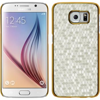Hardcase Galaxy S6 Hexagon weiß