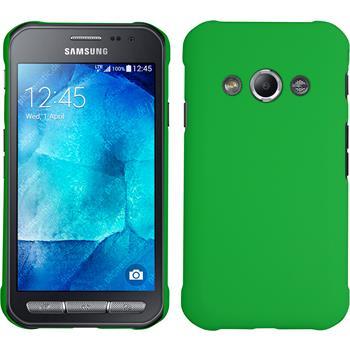 Hardcase Galaxy Xcover 3 gummiert grün