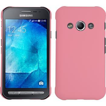 Hardcase Galaxy Xcover 3 gummiert rosa