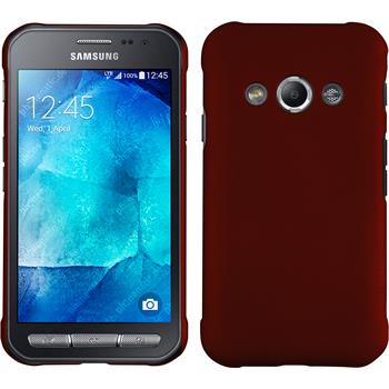 Hardcase Galaxy Xcover 3 gummiert rot