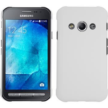 Hardcase Galaxy Xcover 3 gummiert weiß