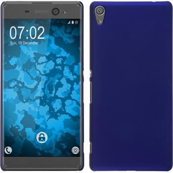 Hardcase Xperia XA Ultra gummiert blau