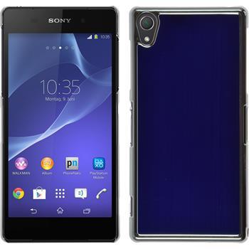 Hardcase für Sony Xperia Z2 Metallic blau